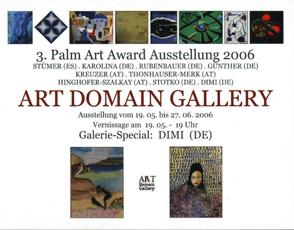 3. Palm Art Award Ausstellung 2006