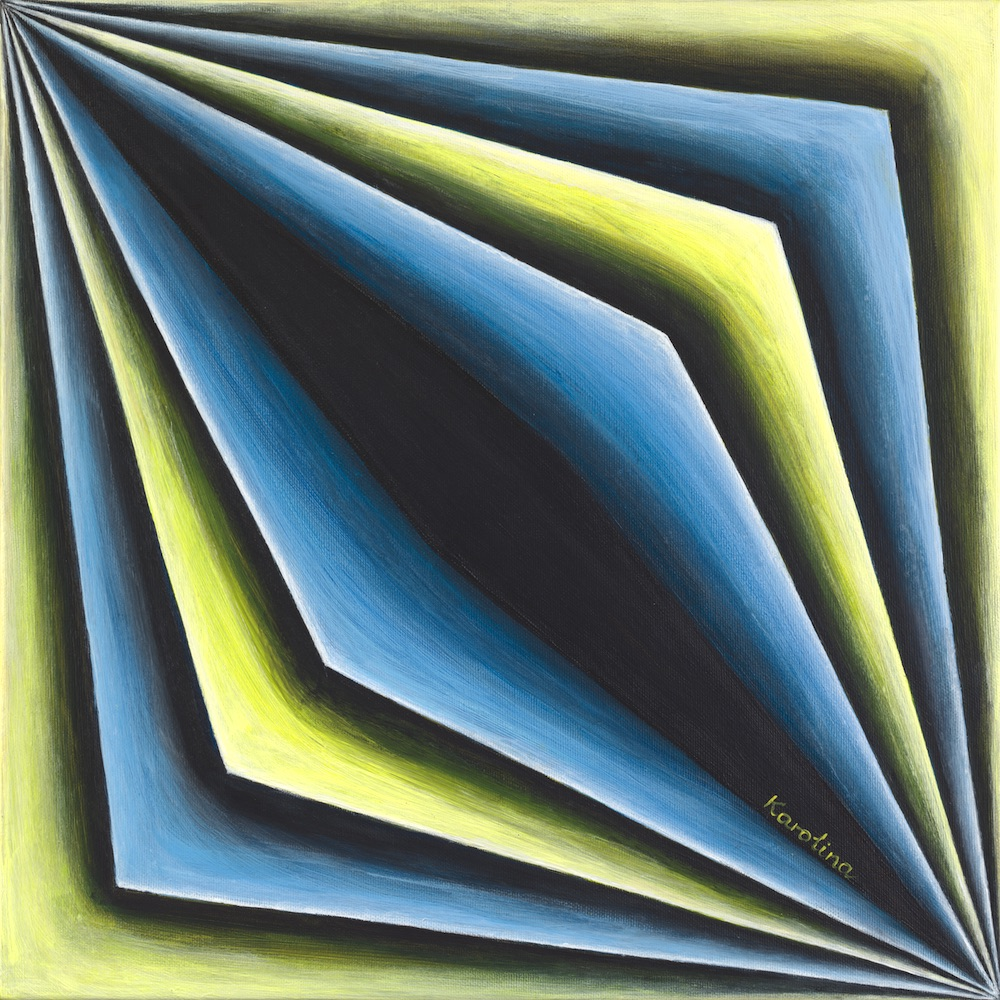 Fächer Acrylic on canvas digital fusion Tagged Image File 4900 x 4900